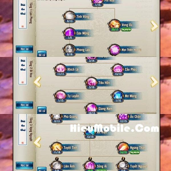 Hình ảnh u2UeUAU của Cách bày Trận Linh hiệp khách cho phái Hợp Hoan - Tru Tiên 3D tại HieuMobile