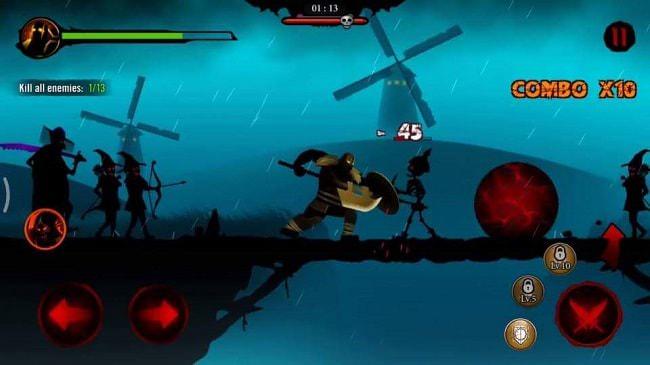 Hình ảnh u3OjMal của Tải game Shadow Stickman: Dark Rising - Người que bóng tối tại HieuMobile