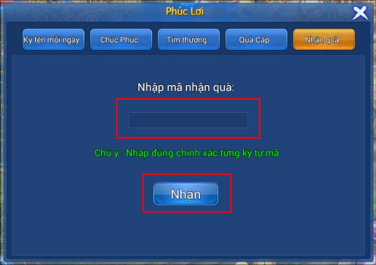 Hình ảnh trong Cách nhận và sử dụng giftcode tân thủ game Thiên Thư Mobile tại HieuMobile