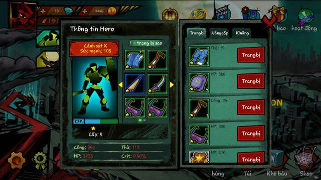 Hình ảnh uA8UxCB của Tải game Zombie Avengers: (Dreamsky) Stickman tại HieuMobile