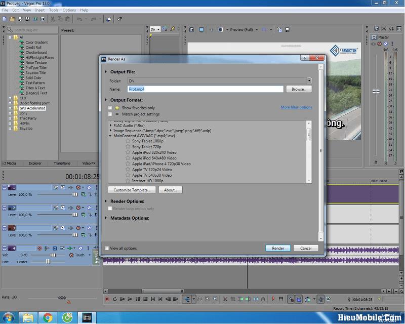 Hình ảnh uJYxi9b của Tải Sony Vegas Pro: Phần mềm làm Video nhẹ mà chuyên nghiệp tại HieuMobile