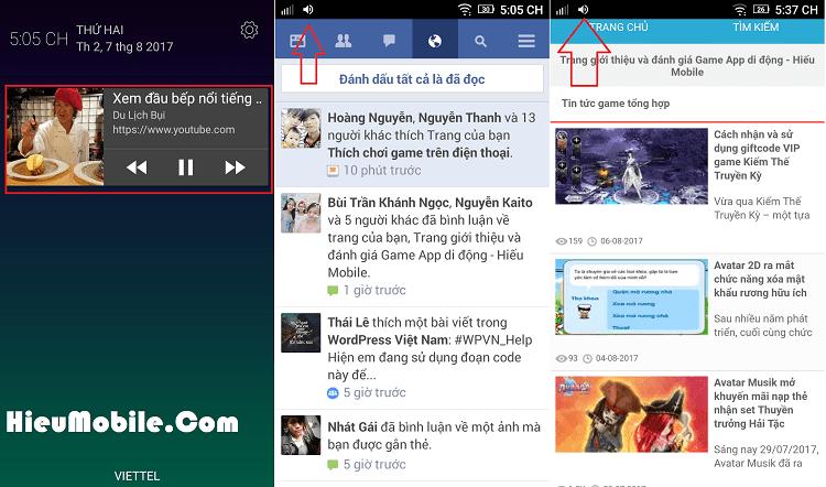 Hình ảnh uQJcKbq của Nghe nhạc trên Youtube khi khóa màn hình Android không cần phần mềm tại HieuMobile