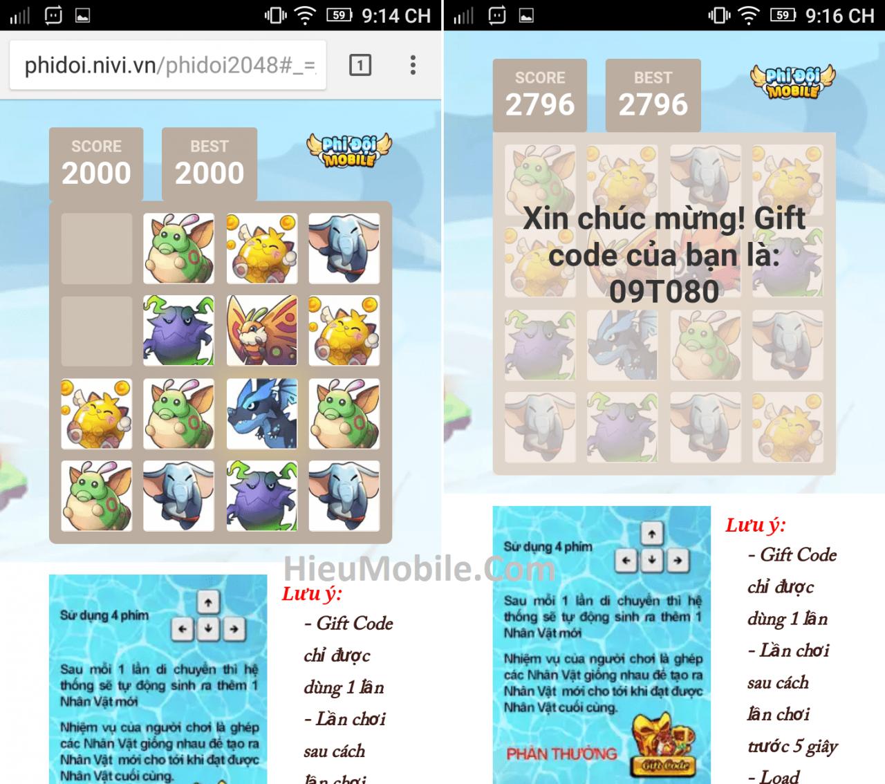Hình ảnh uYVaZsu của Hướng dẫn nhận và sử dụng giftcode Phi Đội Mobile tại HieuMobile