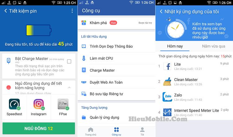 Hình ảnh uwMUdAu của Tải Clean Master - Ứng dụng cải thiện hiệu suất điện thoại Android tại HieuMobile
