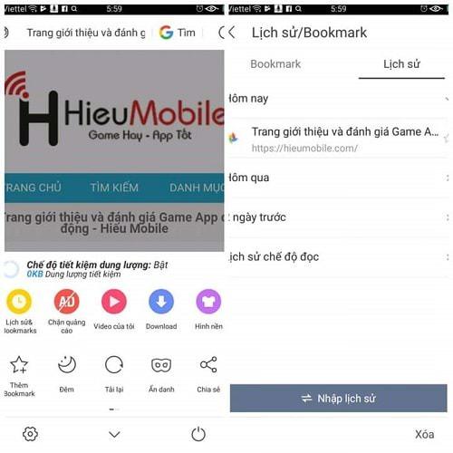 Hình ảnh v1CgdQS của Tăng tốc điện thoại hữu hiệu bằng cách xóa lịch sử duyệt web tại HieuMobile