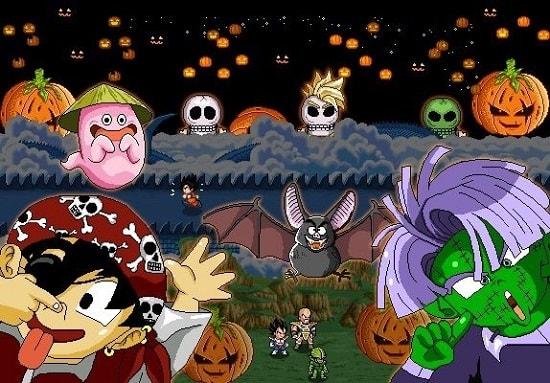 Hình ảnh vCrof14 của Ngọc Rồng Online mở sự kiện Halloween 2017 và thêm chức năng mới tại HieuMobile
