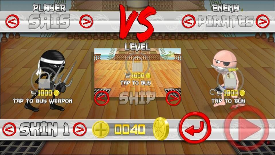 Hình ảnh trong game Stickninja Smash - Bảo vệ vũ khí tại HieuMobile