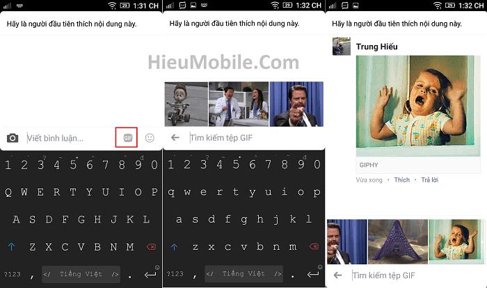 Hình ảnh w0SbX0N của Facebook thêm tính năng gửi ảnh động vào khung bình luận tại HieuMobile