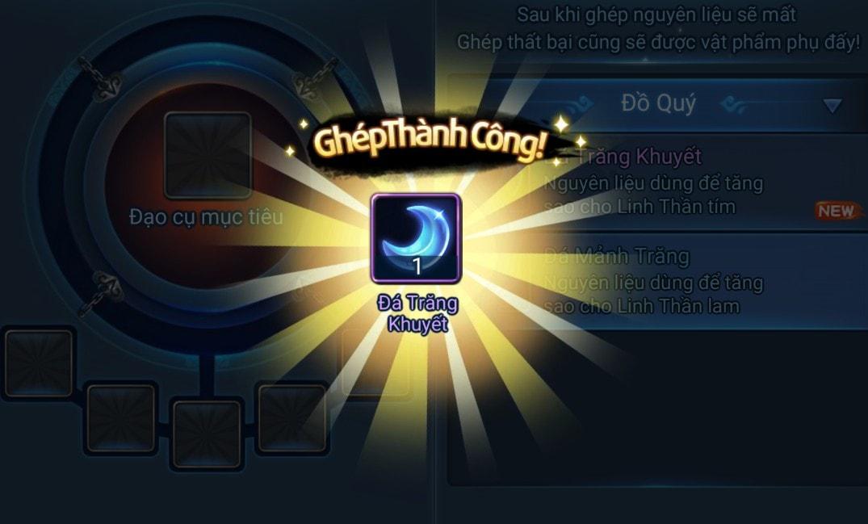 Ghép Đá Nguyệt trong game Thiên Hạ Garena
