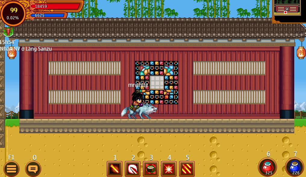 Hình ảnh wOBeUnR của Ninja School Online 137 mở tính năng Thần Thú Gia Tộc tại HieuMobile