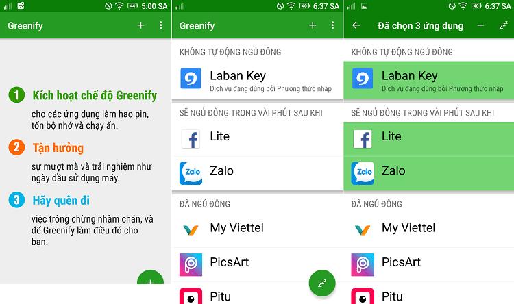 Hình ảnh xZiW9xR của Tải Greenify - Giúp ngủ đông ứng dụng chạy ngầm cho điện thoại tại HieuMobile