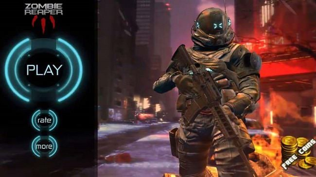 Hình ảnh xrJppZD của Tải game Zombie Reaper 3 - Bắn súng phòng thủ zombie tại HieuMobile