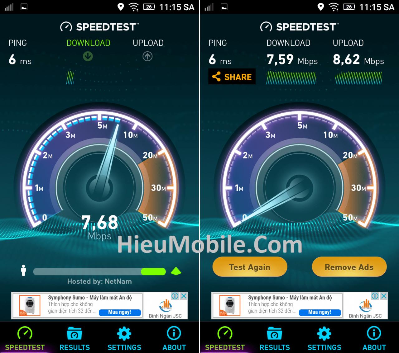 Hình ảnh xxPgdUC của Tải SpeedTest - Ứng dụng kiểm tra tốc độ kết nối mạng tại HieuMobile