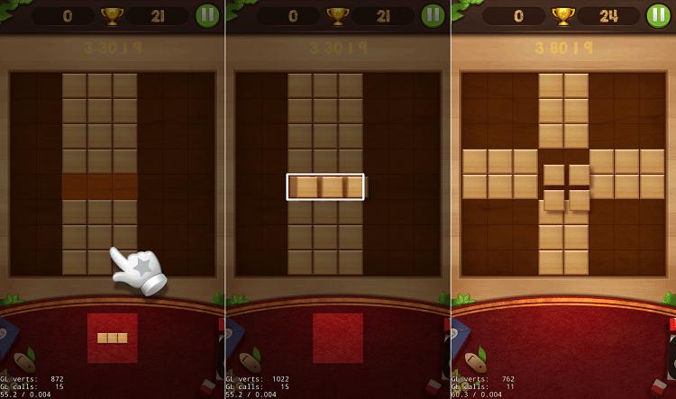 Hình ảnh xyYFIea của Tải game Wood Block Puzzle - Xếp hình phiên bản những khối gỗ tại HieuMobile