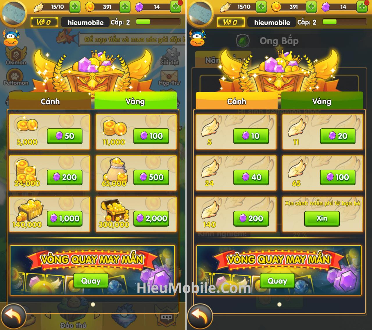 Hình ảnh yIjZnlL của Hướng dẫn nạp thẻ và bảng giá Kim Cương game Phi Đội Mobile tại HieuMobile