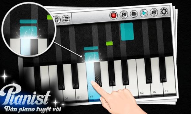 Pianist HD - Ứng dụng đàn Pinano trên điện thoại