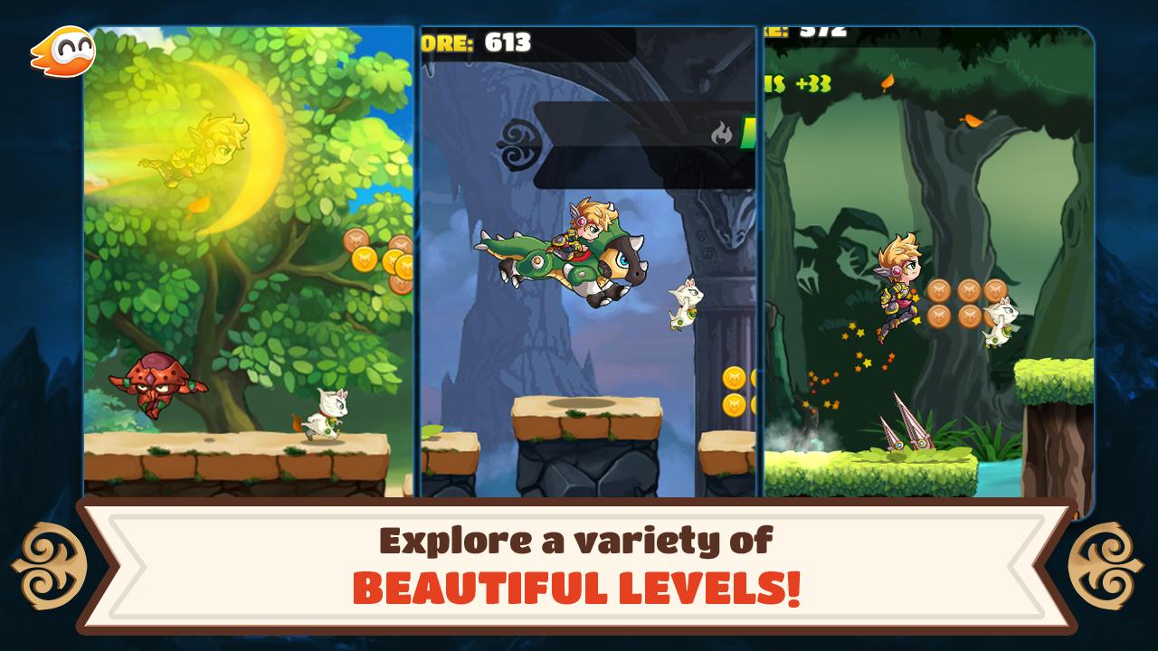 Cài đặt game Fairy Run – Treasure Hunt apk trên Android