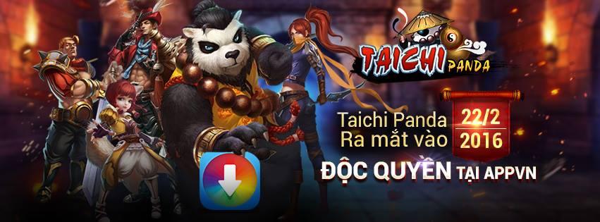Taichi Panda ra mắt tại Việt Nam cho Android và iOs