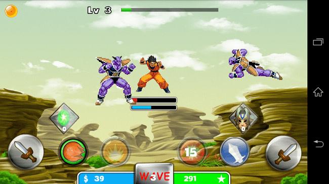 Hình ảnh zkPNg4T của Tải game Saiyan Goku For Super Fight - Goku đại chiến tại HieuMobile