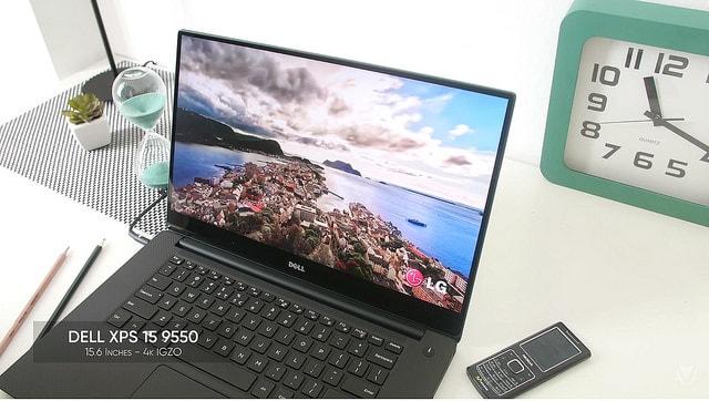 Hình ảnh optimized 18qz của Dell XPS 15 - Laptop tốt nhất để vừa học vừa chơi tại HieuMobile