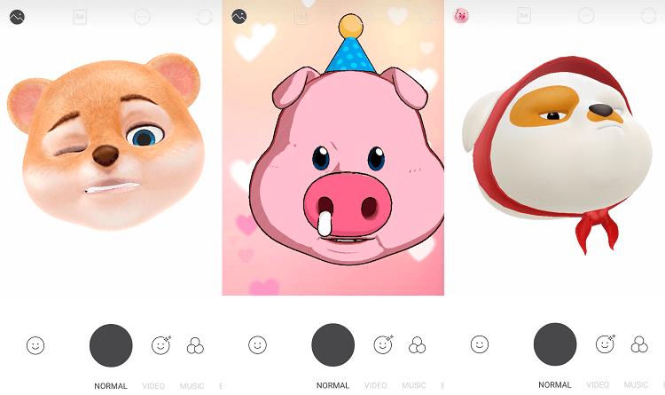 Hình ảnh optimized 2628 của Snow thêm tính năng mặt nạ Animoji ngộ nghĩnh giống iPhone X tại HieuMobile