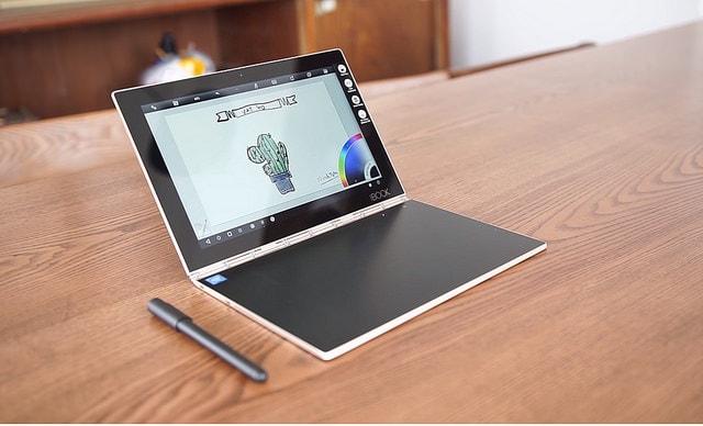 Hình ảnh optimized bveo của Lenovo Yoga Book: Laptop đẹp bóng như một quyển sách tại HieuMobile