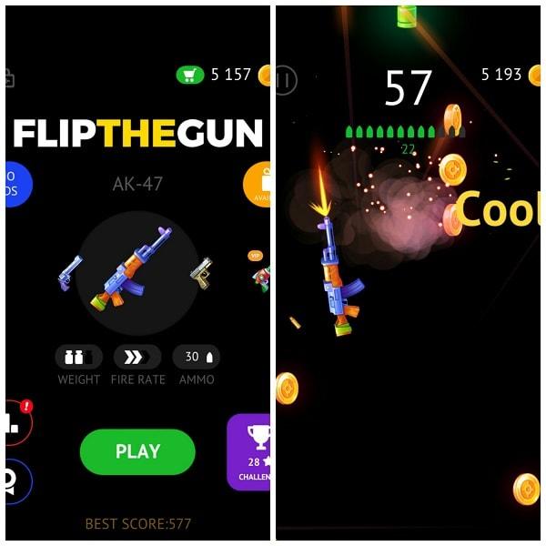 Hình ảnh optimized ch1n của Tải game Flip The Gun - Bắn súng phong cách mới và độc đáo tại HieuMobile