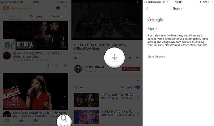 Hình ảnh optimized enc7 của Tải BananaVideo: Công cụ tải mọi video Youtube về iPhone tại HieuMobile