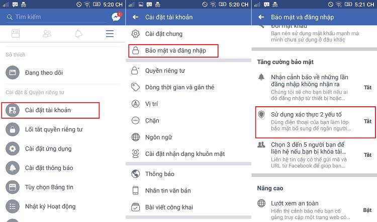 Hình ảnh optimized kvsv của Cách bật xác thực 2 yếu tố bằng tin nhắn SMS để bảo vệ tài khoản Facebook tại HieuMobile