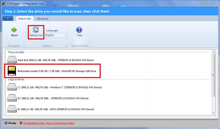 Hình ảnh optimized qn2y của Cách khôi phục mọi dữ liệu đã xóa trên thẻ nhớ bằng DiskDigger tại HieuMobile