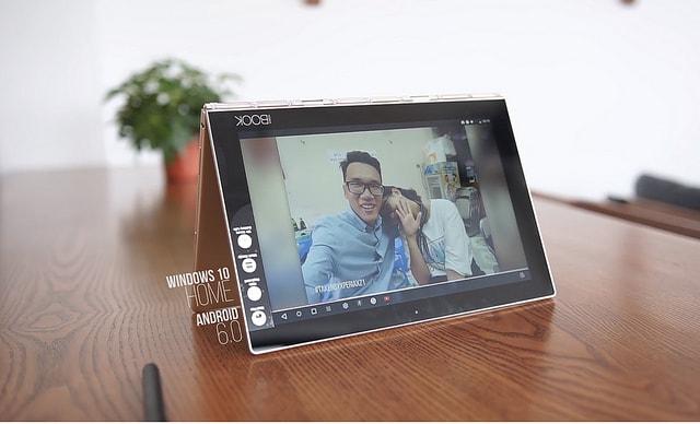 Hình ảnh optimized r2xw của Lenovo Yoga Book: Laptop đẹp bóng như một quyển sách tại HieuMobile