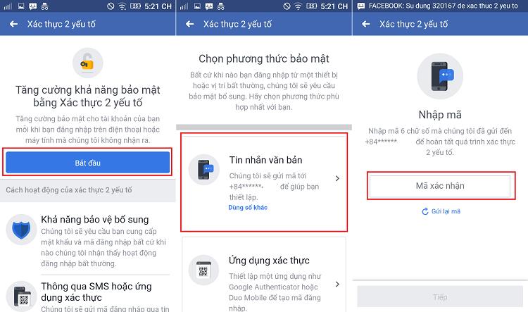 Hình ảnh optimized vw5g của Cách bật xác thực 2 yếu tố bằng tin nhắn SMS để bảo vệ tài khoản Facebook tại HieuMobile