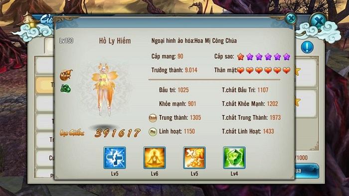 Hình ảnh minh họa: Pet trong game Tru Tiên 3D Mobile