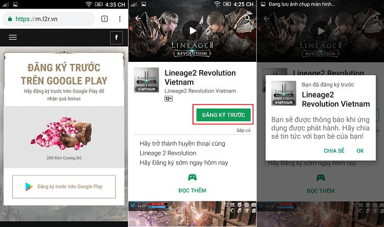 Hình ảnh optimized 6gys của Lineage 2 Revolution phiên bản Android đã xuất hiện trên Google Play tại HieuMobile