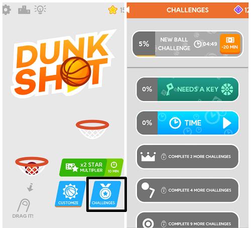 Hình ảnh optimized 74qh của Tải game Dunk Shot - Bắn bóng vào rổ kiểu canh toạ độ tại HieuMobile