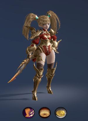 Hình ảnh nhân vật Sát Thủ của tộc Người Lùn – Scavenger trong game Lineage 2 Revolution – L2R