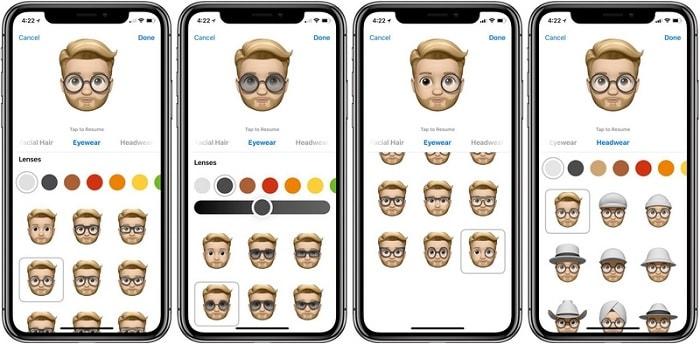 Hình ảnh optimized awsh của Hướng dẫn tạo một Memoji đầy đủ trên iPhone X đã cập nhật iOS 12 tại HieuMobile