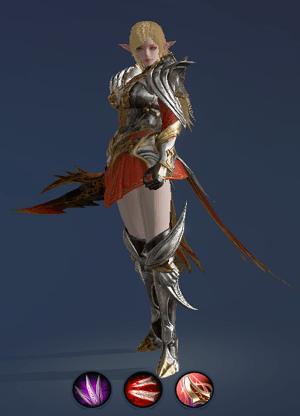 Hình ảnh nhân vật Sát Thủ của tộc Tiên – Plains Walker trong game Lineage 2 Revolution – L2R