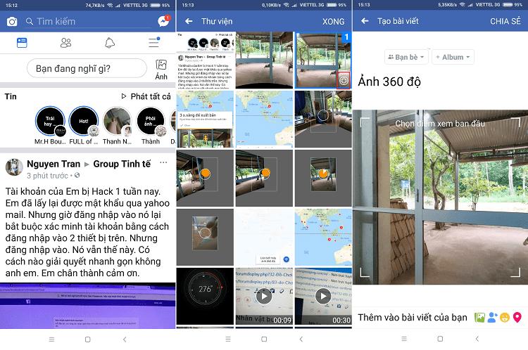 Hình ảnh optimized grig của Cách chụp và đăng ảnh 360 độ đầy đủ lên Facebook bằng điện thoại tại HieuMobile