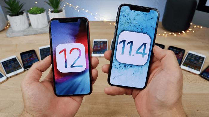 Hình ảnh optimized otbk của Làm sao để hạ cấp iOS 12 về iOS 11 cho iPhone không bị mất dữ liệu? tại HieuMobile