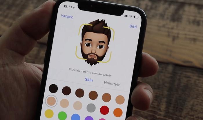 Hình ảnh optimized phqg của Hướng dẫn tạo một Memoji đầy đủ trên iPhone X đã cập nhật iOS 12 tại HieuMobile