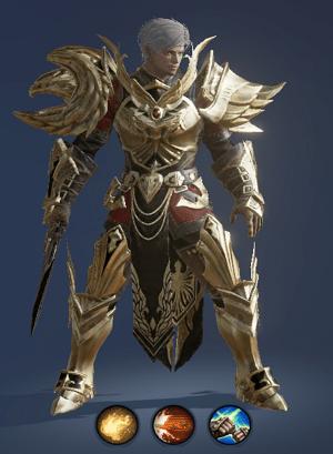 Hình ảnh nhân vật Sát Thủ của tộc Người – Treasure Hunter trong game Lineage 2 Revolution – L2R