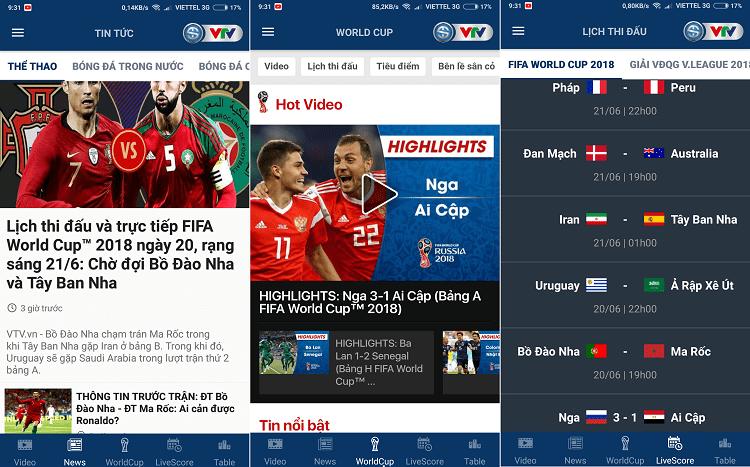 Hình ảnh optimized qyry của Chia sẻ ứng dụng xem lại video các trận đấu World Cup bằng tiếng Việt tại HieuMobile
