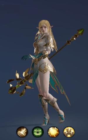 ElderHình ảnh nhân vật buff tộc Tiên - Elder trong game Lineage 2 Revolution – L2R