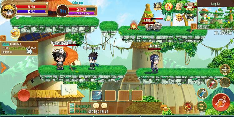 Hình ảnh optimized uh2r của Tải game Làng Lá Phiêu Lưu Ký: Nhập vai cày cấp đề tài Naruto hấp dẫn tại HieuMobile