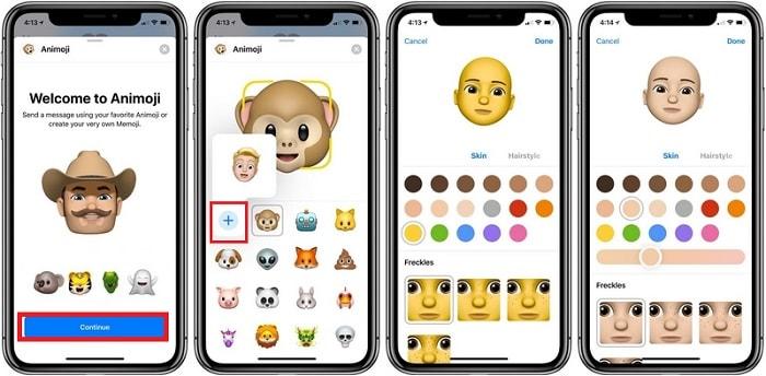 Hình ảnh optimized usdg của Hướng dẫn tạo một Memoji đầy đủ trên iPhone X đã cập nhật iOS 12 tại HieuMobile