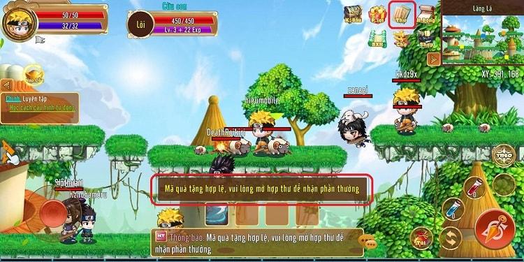 Hình ảnh optimized x7wt của Tổng hợp các giftcode game Làng Lá Phiêu Lưu Ký và cách sử dụng tại HieuMobile