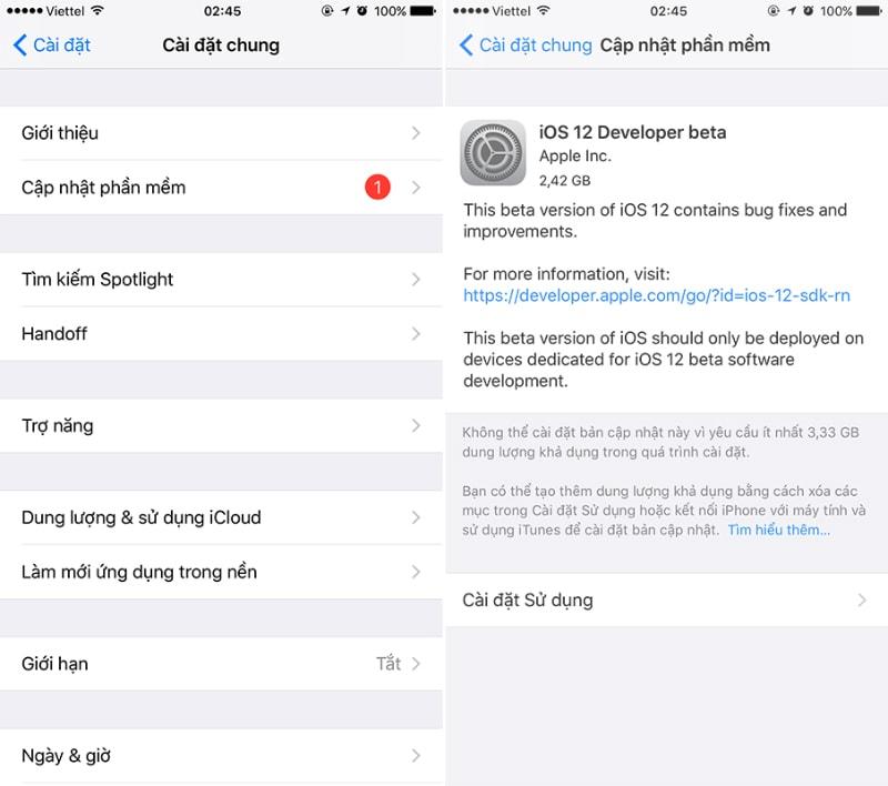 Hình ảnh optimized zu1u của iOS 12 Public beta ra mắt: Ổn định, ít lỗi hơn và đây là cách cập nhật tại HieuMobile