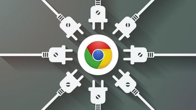 Ảnh minh họa về mối quan hệ tiện ích - plugin đối với trình duyệt Chrome