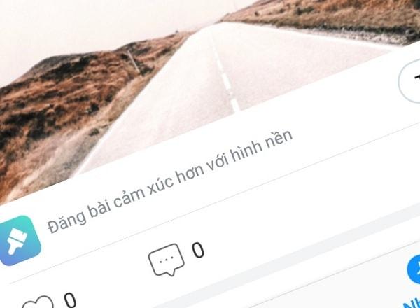 Hình ảnh optimized 9dqb của Zalo thêm phông nền khi đăng trạng thái đẹp hơn cả Facebook tại HieuMobile